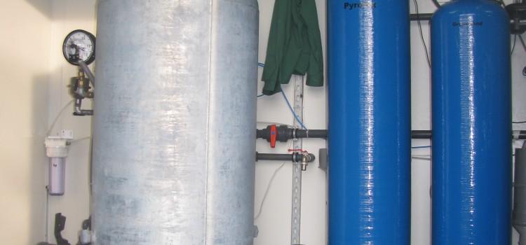 kontenerowa SUW Śluza Rędzin